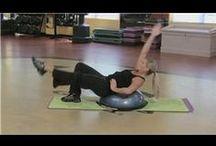 bosu ball videos & exercises / by cheryl frith