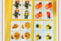 Fall Preschool Activities / Find Montessori inspired Fall activity ideas and Fall inspiration for at-home preschoolers. Includes fine motor, math and pre-reading activities, crafts and art projects.