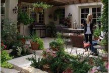 ❀ Backyard Ideas ❀ / DIY backyard, design, landscape, patio makeover, plants