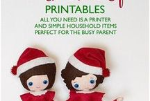 Christmas Elf Printables / We have over 25 printables for easy ideas for the Elf. All of the printables are easy to print and cut and have any directions you need. Only simple household items are needed. No messy cleanup. Elf Shelf Printables, elf shelf ideas, elf shelf activities, elf shelf funny idea, elf shelf silly idea, naughty elf, silly elf, funny elf, elf forgot to move, i forgot to move the elf, easy elf ideas, simple elf ideas, elf arrives, elf goodbye, elf goodbye letter, letter from santa