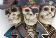 thema figuren pirate indianen sport griezel etc / vele verschillende themafiguren bv sportfiguren, griezel, piraten, indianen, aliens enz enz