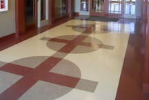 Fritztile Terrazzo Tile- Custom Cuts / Fritztile can be custom cut to fit into any design you can imagine!