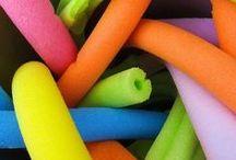 reuse: foam, styrofoam, assorted