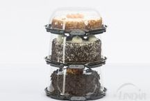Simply Secure / Tamper Obvious Pie, Cake, Bakery, Deli and Produce Packaging.