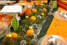 Présentations de tables / Des idées de dressage de tables pour toutes les occasions.