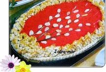 WIELKANOC - od kuchni / jajka na różny sposób zrobione, jedzenie, farsze do jajek, ciasta, mazurki