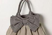 TORBY, TOREBECZKI / jak zrobić lub przerobić np. torbę na torebkę, futerały, puzderka, kosmetyczki