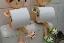 DOM - łazienka, przedpokój / dekoracja, urządzanie