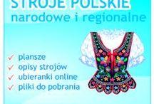 POLSKI folklor / STROJE REGIONALNE