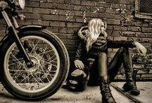 Leather & Lace / Leather & Lace: Inferno Glory MC - contemporary steamy romance serial with plenty of hot, tattooed military bikers. Oh, and the heroine has her own Harley. http://amzn.to/1HNn6CI / by J. A. Fredericks