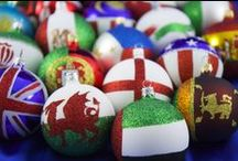 Flags Collection 2015 / We have designed and created a unique range of flag ornaments from over 70 different countries.  These celebrate the diversity of the cultures within which we live and are ideal for the home, office or school.