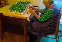 This is how we make it! / It takes at least 5 days to finish Bullarum Ornament.