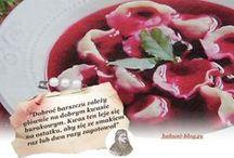 WIGILIA -  od kuchni / Sylwester, karnawał, ryby, barszcz, nakrycie stołu, zapachy,
