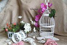 WIKLINA P - inspiracje / koszyczki, plecionki z wikliny papierowej, dekoracje,