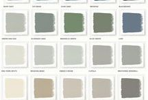 Colors for my house / My house is filled with greys, white and black (as the true Scandinavian I am) - but I would like it to feel more warm and have some more colors - so this is my new mission.
