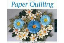 Quilling papier / quilled art, ruloniki z papieru, twórczość, rolki papierowe,