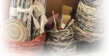 MOJE PRACE / wiklina papierowa, wycinanki, prace z papieru
