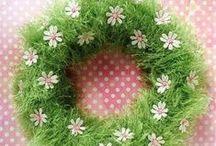 WIEŃCE, WIANKI, WIANUSZKI / dekoracje do domu, dekoracje do ogrodu, dekoracje świąteczne,