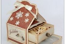 PREZENTY, PUDEŁKA, OPAKOWANIA / pudełka, ozdabiamy prezenty, dodatki do prezentów,