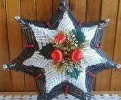 WIKLINA P - święta / Ozdoby z wikliny z okazji świąt Bożego Narodzenia, Wielkanocy,