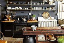 Dream Kitchens / Interior design, home decor, dream kitchen, kitchen fittings, kitchen utensils, kitchen appliances, kitchen decoration.