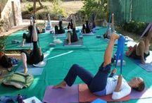 Tuscany Retreat & Teacher Training / Yogalates retreats are held in Tuscany.  Yogalates Teacher Trainings are held in Tuscany, Italy and Byron Bay, Australia.