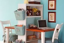 Dorm/Apartment Deco Ideas / Make it feel like home; ideas for small spaces. / by University of Wisconsin-Washington County