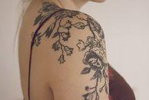 tatueringar, piercingar