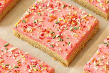 Gorgeous tray bakes
