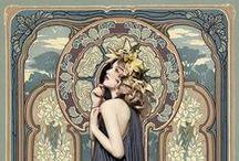 art nouveau / by Aster Yomena