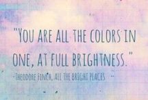 All The Bright Places / The amazing book All the bright places by Jennifer Niven ❤️