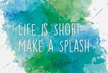 Life is Short Make a Splash / Repin the charity of your choice to earn them extra votes for our Life is Short Make a Splash campaign!