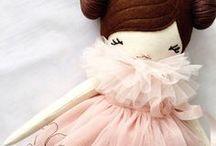 hand sewn dolls