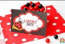 Ladybug Party | THEME / #partyinvite #ForeverYourPrints #FYP #4EverYourPrints #PartyTheme #PartyIdeas #Inspiration #Printables #PartyPrintable #Birthday #BirthdayInvites #BabyShower #BabyShowerInvites #LadyBugParty #LadyBugBabyShower #Ladybugs #BugParty / by Forever Your Prints
