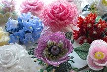 beaded flowers / by Suzy