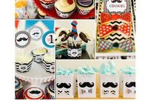 Little Man Party / Mustache Party | THEME / # / by Forever Your Prints
