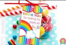 Rainbow Party | THEME / by Forever Your Prints