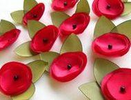 Flowers / Fiori in tutti i modi: carta, plastica, vetro....