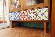 Restored furniture / Móveis repaginados