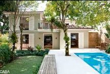 Outdoor spaces / Áreas externas / Pra você que está construindo, reformando ou busca dicas para a área externa da casa.