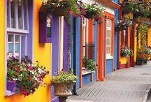 Fachadas / Facades / Branquinhas, pretas, coloridas... Modernas, românticas, de vila... Fachadas que inspiram!