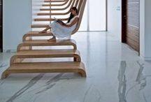 Escadas / Stairs / Escadas pra você se inspirar e como aproveitar o espaço debaixo delas.