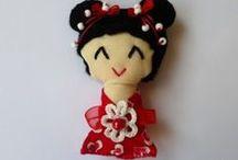 Kokeshi a jiné panenky