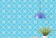 Papel de Parede / Wallpaper / Ideias lindas para a parede!
