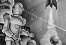 Tomorrow before / Retro futurism vision (social science fiction, architecture, design, urbanism, technology...)