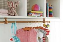 Quartos Infantis / Kids Rooms / Ideias de decoração e organização para os quartos infantis.