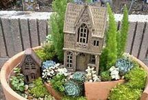Mini/FAERIE garden ideas / Ideas for small gardens....#Faerie #Garden #minigarden #faeriegarden
