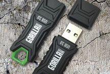 GorillaDrive USB Flash Drives / Ruggedized USB Flash Drives