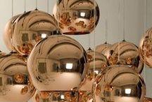 Cobre / Copper / Rose Gold / Várias ideias onde o cobre é a estrela da decoração!
