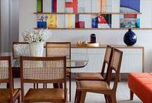 Salas de Jantar / Dinning Rooms / Elas são testemunhas de momentos especiais e merecem nossa atenção! Salas de jantar cheias de charme pra inspirar!